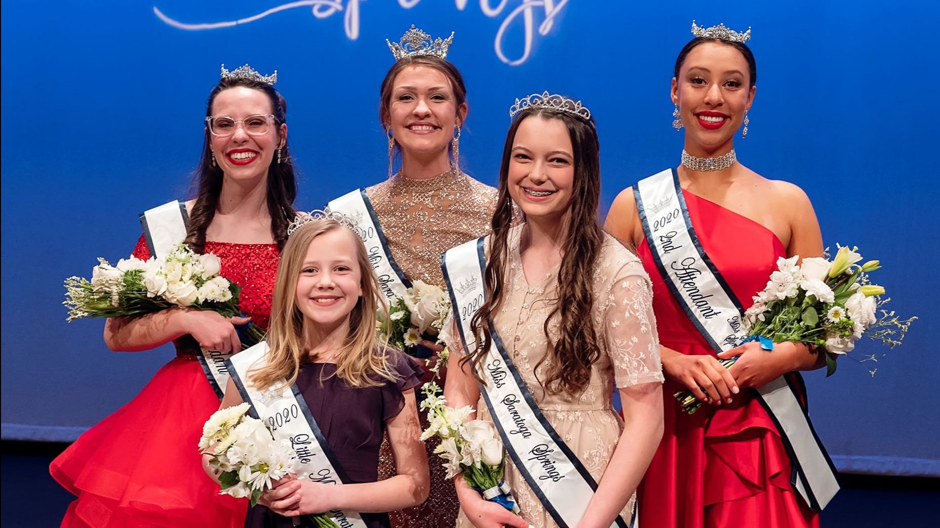2020 Miss Saratoga Springs, Attendants, Junior Miss and Little Miss