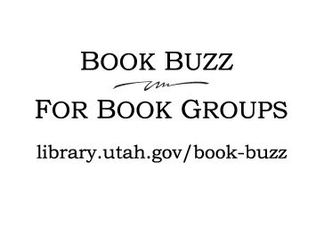 Utah State Library Book Buzz Logo and Website Link.