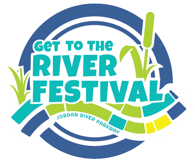 get into the river color logo