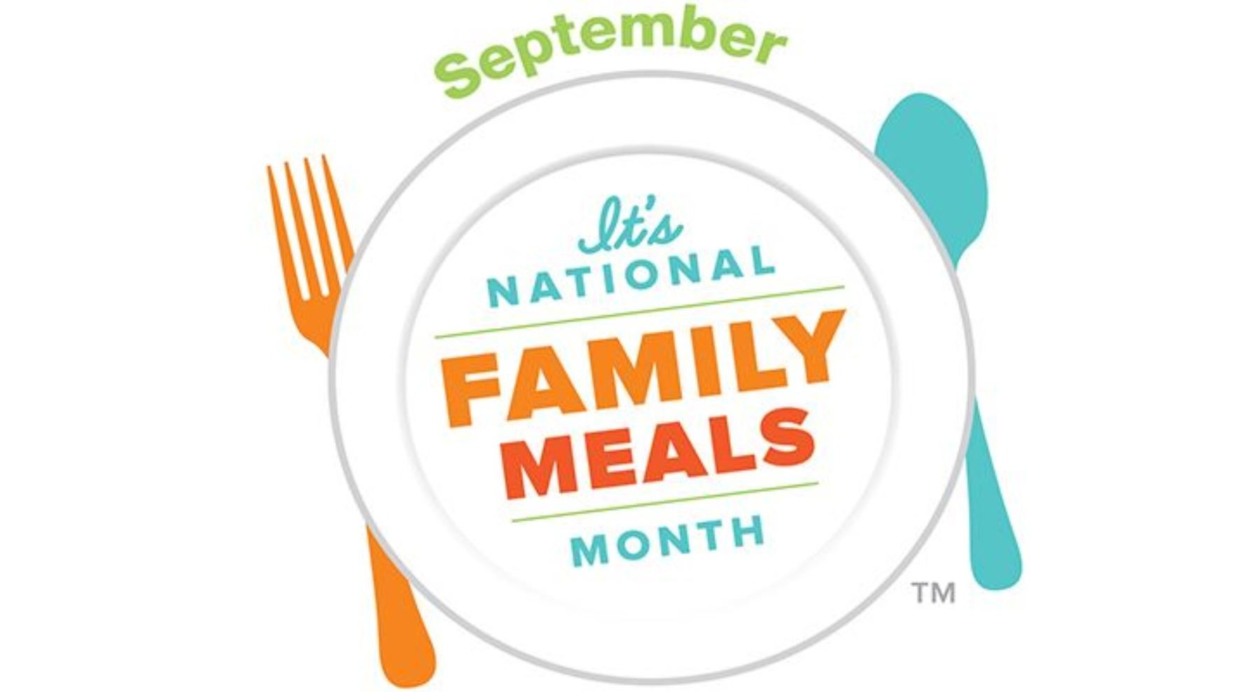 September Natl Family Meals Month