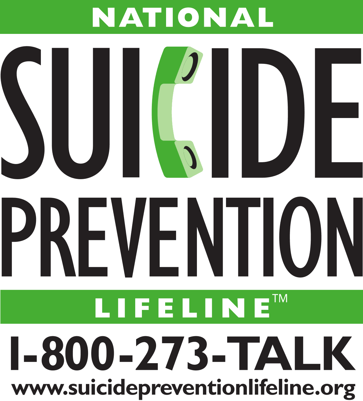 Suicide Prevention Hotline Advertisement